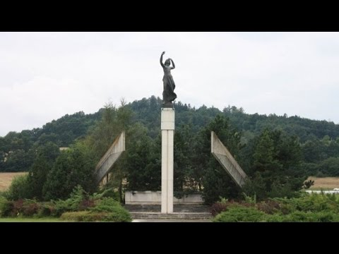 LIVE: Night Wolves lay flowers to Soviet War Memorial in Vitejovice