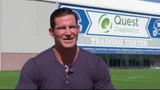 Steve Weatherford and Quest Diagnostics Discuss Family Health and Wellness