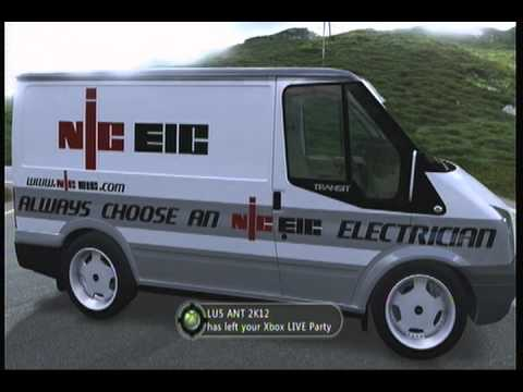 NIC EIC Van , Forza Motorsport 4