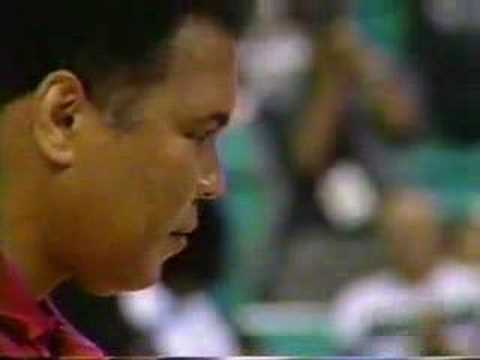 1996 Atlanta Olympics - Muhammad Ali Receives Lost Medal