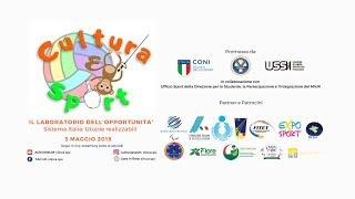 DIRETTA LIVE: Cultura&Sport - IL LABORATORIO DELL' OPPORTUNITA'