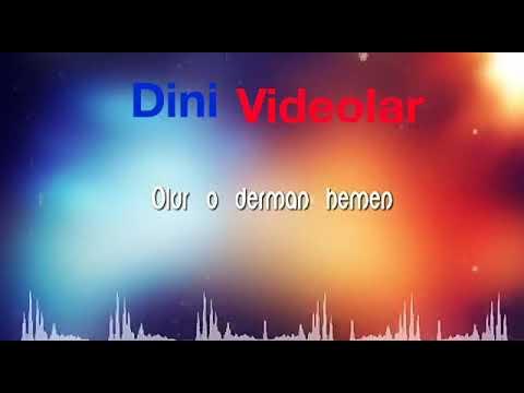 Ya-Lili  Dini Yeni Versiya(YA RAHİM YA RAHMAN) (izlə)