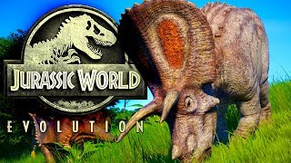 Jurassic World Evolution #02 | Neues Tiergehege | Gameplay German Deutsch thumbnail