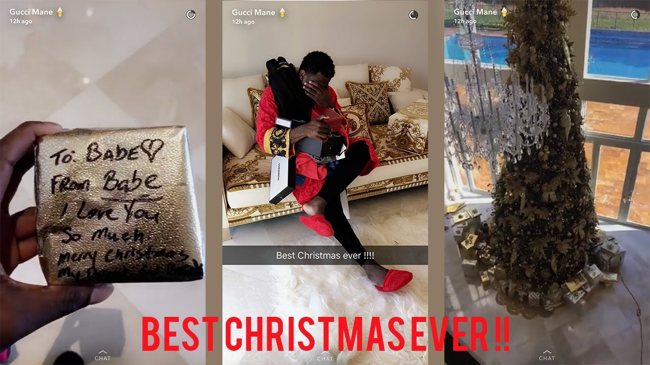 gucci mane shows his expensive christmas presents - Gucci Mane Christmas
