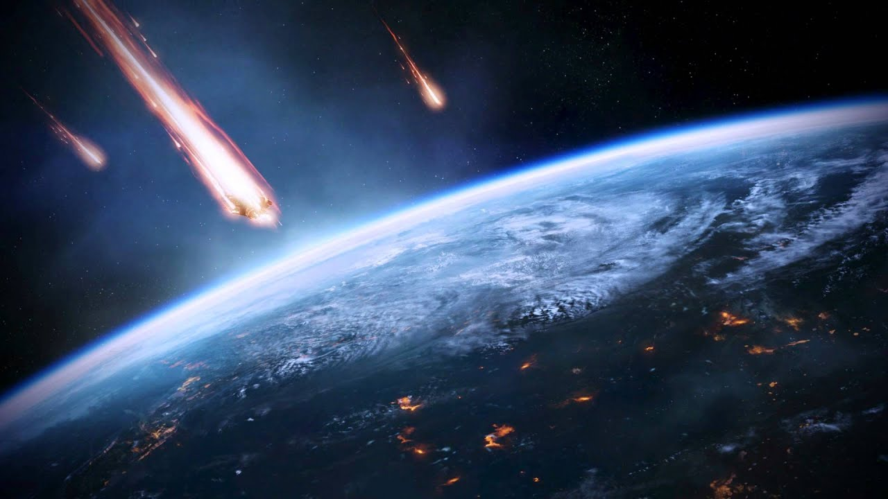 Mass Effect 3 Earth Under Siege Dreamscene Video Wallpaper Youtube