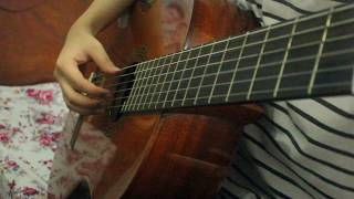 Aline (Christophe) - Guitar Cover