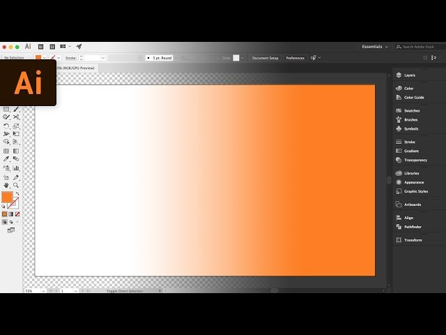 How to Change the Background Color | Illustrator Tutorial