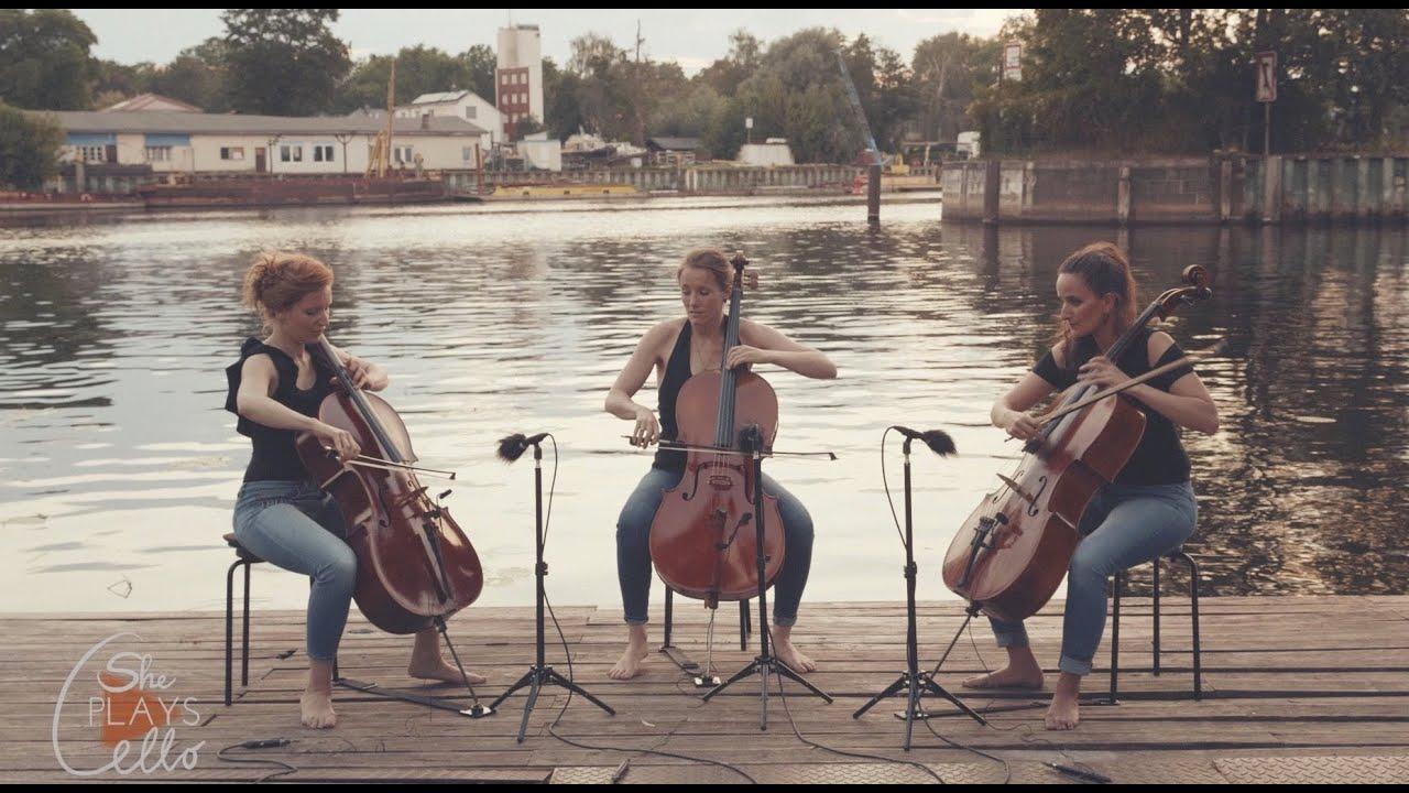 The Pretender - Foo Fighters (CELLO TRIO COVER by she plays cello)