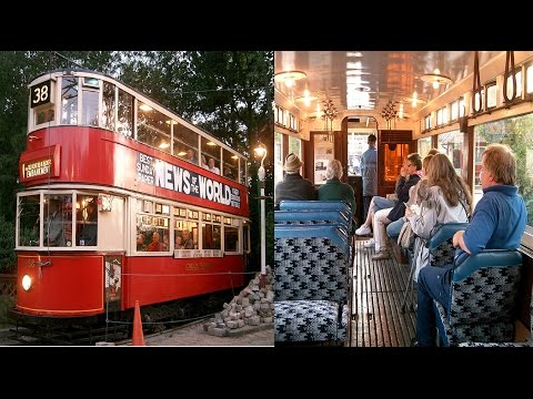 Historic London Tram - Watching & Riding; Day & Night!