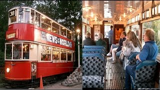 Historic London Tram - Watching & Riding; Day & Night!