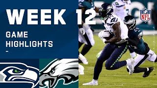Seahawks vs. Eagles Week 12 Highlights | NFL 2020