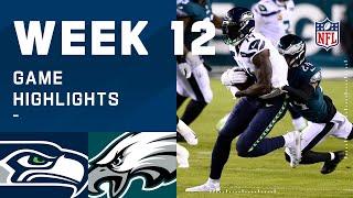 Seahawks vs. Eagles Week 12 Highlights   NFL 2020