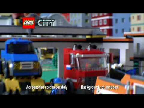 Lego City Garage (7642) - Toys R Us - YouTube
