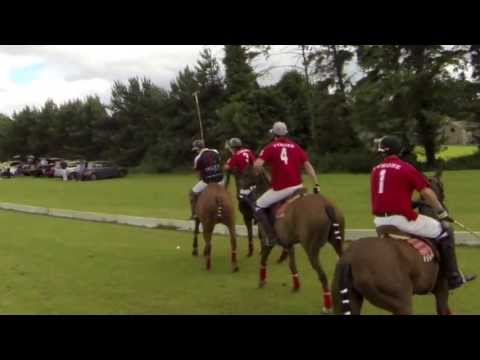 Polo in Wicklow Ireland Tyrone vs Pegus Umpire Polo Cam