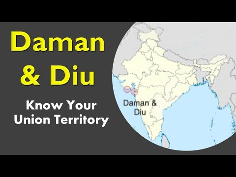 Daman and Diu GK - Know your Union Territory - GK for competitive exams