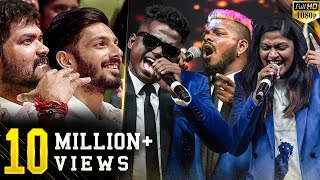 Casteless Collective Chumma Kizhi LIVE Performance! Epic reactions from Celebrities! Don't miss.