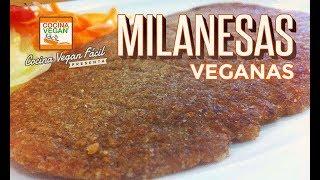 Milanesas veganas - Cocina Vegan Fácil