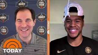 Baylor Player Jared Butler, Coach Scott Drew Talk NCAA Victory | TODAY