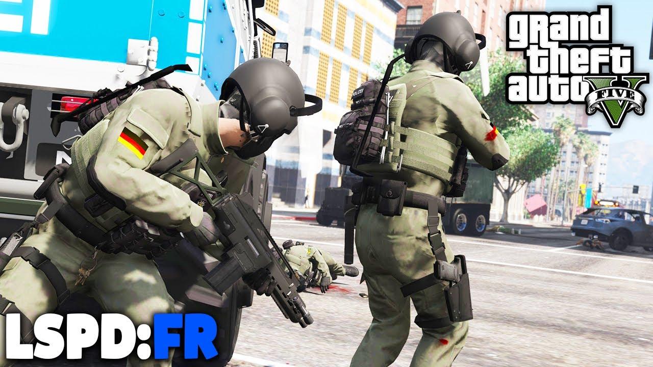 GTA 5 LSPD:FR - SEK / SWAT im GROSSEINSATZ! - Deutsch - Polizei Mod #89 Grand Theft Auto V