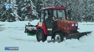 Работа коммунальных служб в зимний период