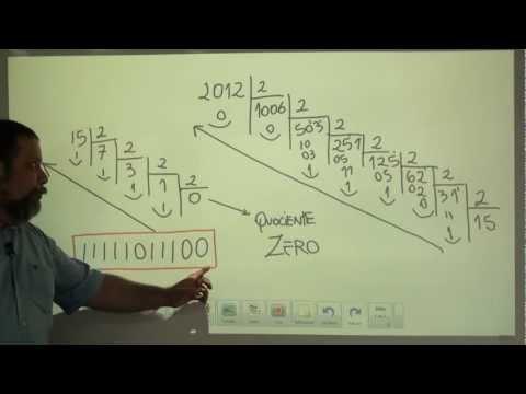 Conversão de Base (decimal - binário) Wagner Barros (1 de 2)