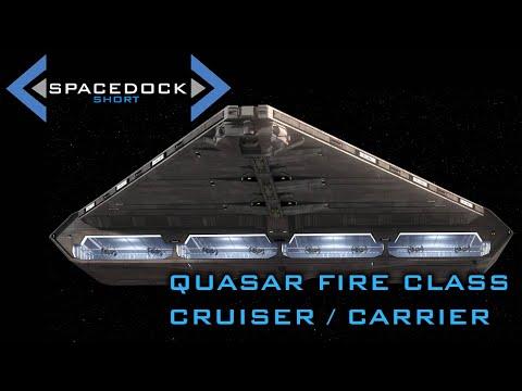 Star Wars: Quasar Fire Class Cruiser/Carrier (Canon) - Spacedock Short
