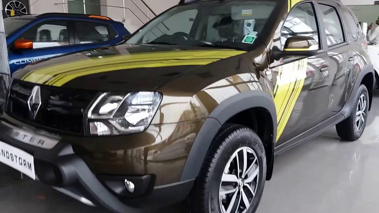 new renault duster sandstorm edition launched exterior and interior specs 1080p youtube. Black Bedroom Furniture Sets. Home Design Ideas