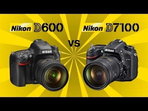 Nikon D7100 vs Nikon D600