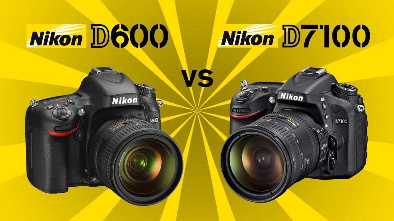Nikon D7100 vs Nikon D600 - YouTube