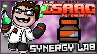 The Binding of Isaac: Afterbirth - Synergy Lab: ULTIMATE RUBBER CEMENT!