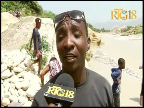 Haïti.- Une cargaison de riz jetée à Tabarre