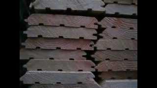видео имитация бруса лиственница
