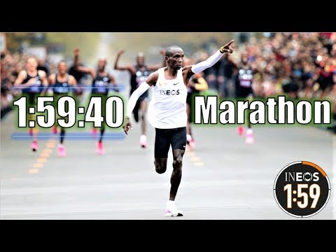Eliud Kipchoge's Historic 1:59 Marathon || The Ineos 159 Challenge
