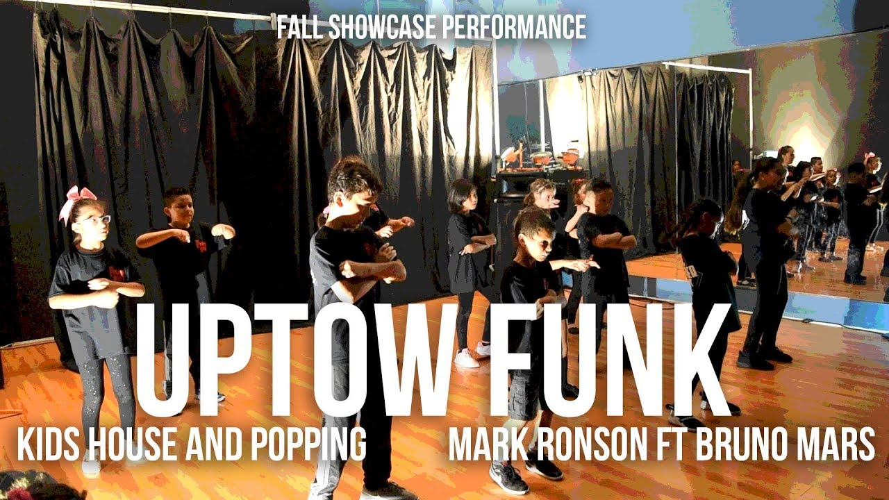 Uptown Funk - Mark Ronson ft Bruno Mars (Performance) | Kids House and Popping