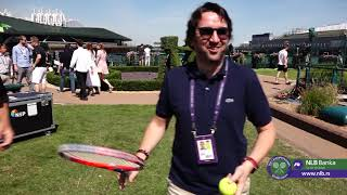 Viško i Neven sa Majstorom Freestyle Tenisa Stefanom Bojićem   SPORT KLUB Tenis