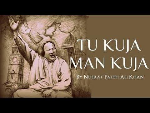 Tu kuja Man Kuja Nusrat Fateh Ali Khan Whatsapp Status Lyrics 1