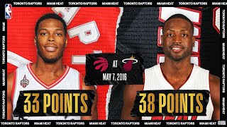 Lowry & Wade Duel In Thrilling ECSF Game 3   #NBATogetherLive Classic Game