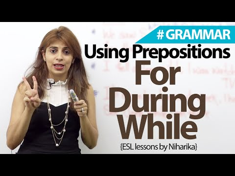 How Are Prepositions