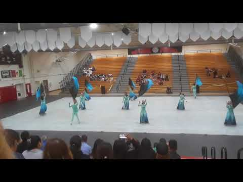 Jurupa Valley High School Winterguard 2018