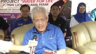 Takungan Simpanan Air Bersih Lama Perlu Diganti Semula kata Dato Seri Hamzah Zainuddin