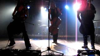 Apocalyptica - Hall of the Mountain King (Oulu 2011)