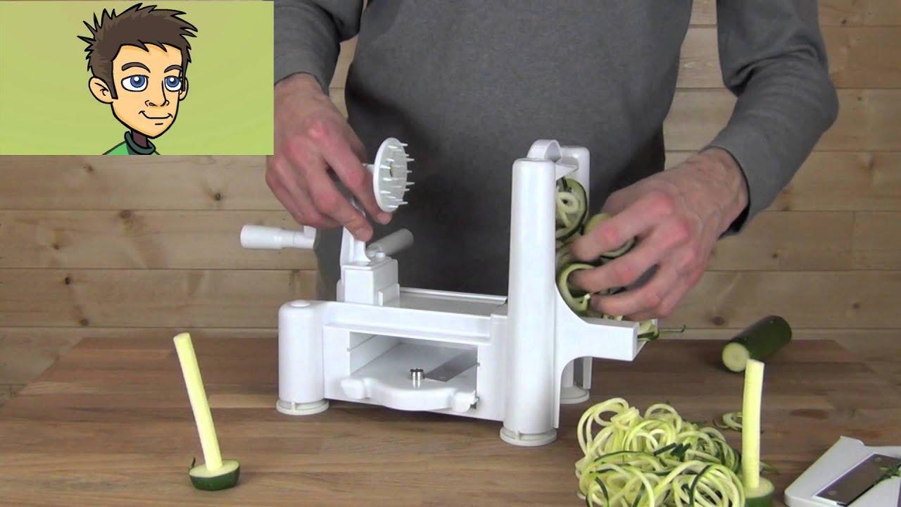 Paderno world cuisine spiral vegetable slicer spirooli - Paderno world cuisine spiral vegetable slicer ...