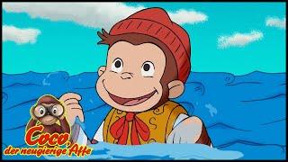 Coco der Neugierige 🐵Der Pirat mit dem gelben Hut -das Halloween🐵Ganze Folgen 🐵Cartoons für Kinder