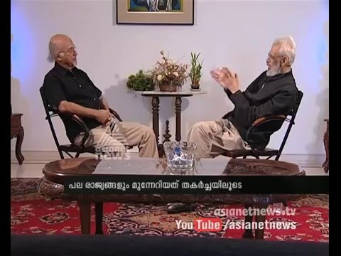 Watch interview with T. J. S. George today at 6.30 PM on Asianet News