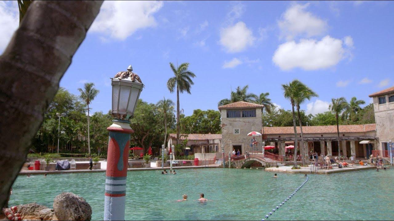 Florida Travel Dip Into History At The Venetian Pool