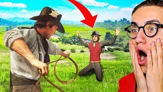 PLAYING AS A POLICE OFFICER in Red Dead Redemption 2