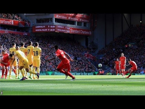 Liverpool vs Crystal Palace 1-2 April 23rd 2017 All Goals and Highlights!