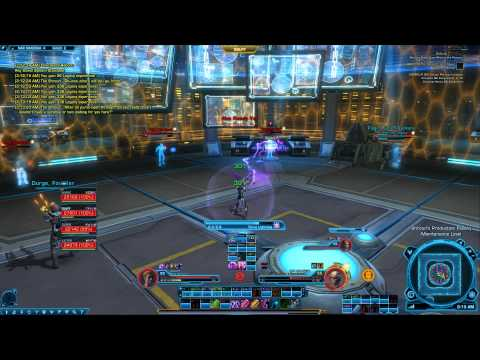 SWTOR The Shroud boss fight - The Shroud's Last Stand heroic 4 macrobinocular mission