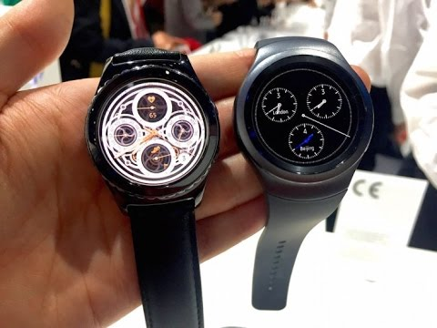 Samsung Gear S2 First Look & Quick Reviews || Gear S2 3G,Gear S2 ...