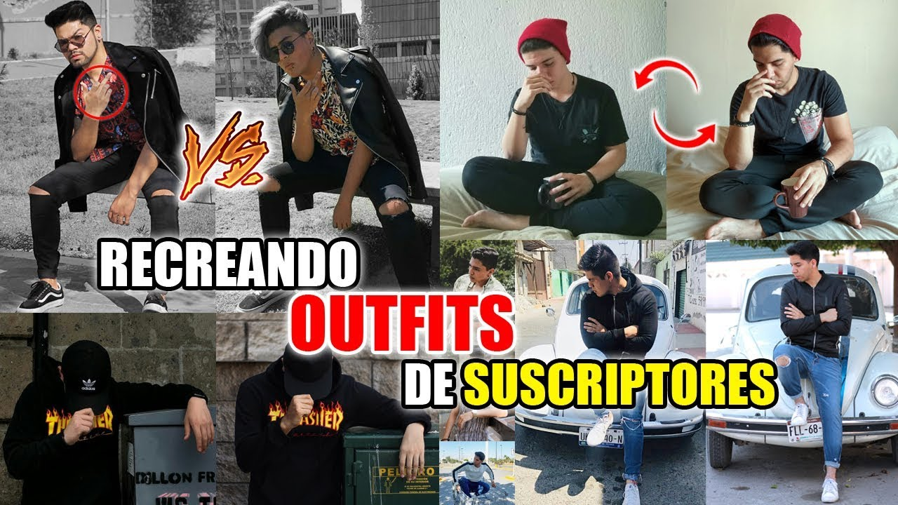 [VIDEO] - IMITANDO OUTFITS Y FOTOS DE MIS SUSCRIPTORES! 3